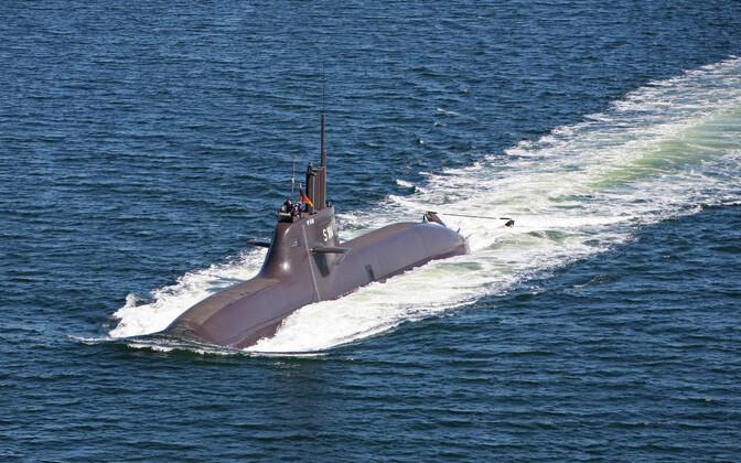 Saksamaa 212-klassi allveelaev U-34.
