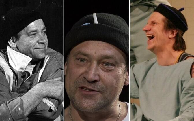 Kolm McMurphy't - Tõnu Kark, Üllar Saaremäe ja Hannes Kaljujärv