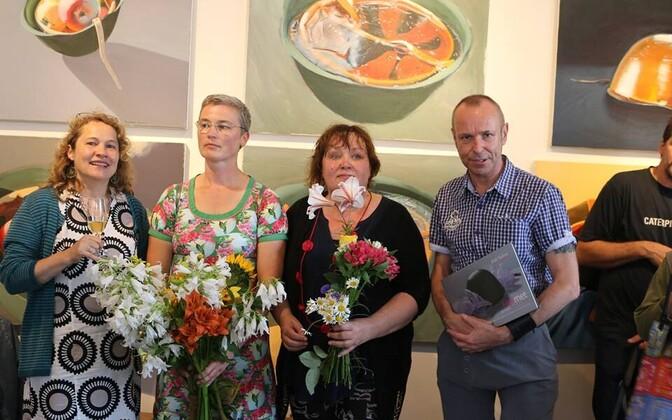 Inge Schjødt , Külli Suitso, Imbi Paju ja Harry Liivrand