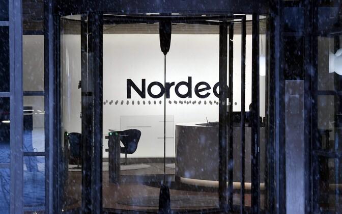 Nordea kontor Helsingis.