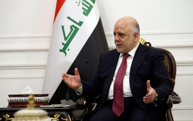 Iraagi peaminister Haider al-Abadi.
