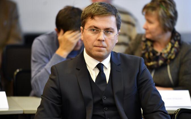 Депутат Нарвского горсобрания Сергей Горлач.