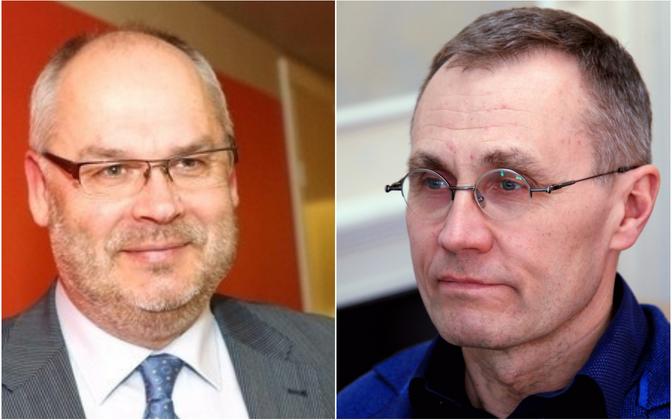 Alar Karis ja Tõnis Lukas on Eesti Rahva Muuseumi kaks direktorikandidaati.