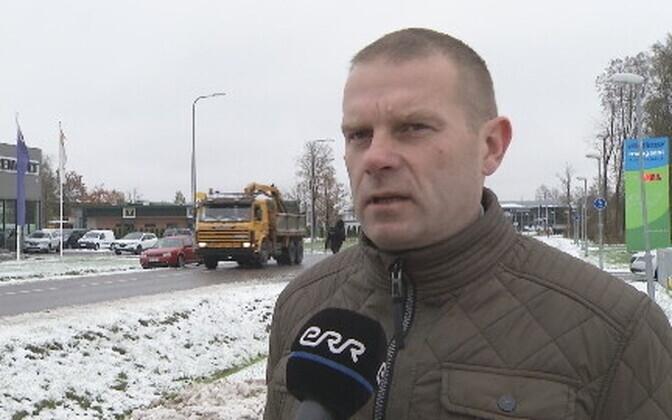 Pärnu mayor Romek Kosenkranius.