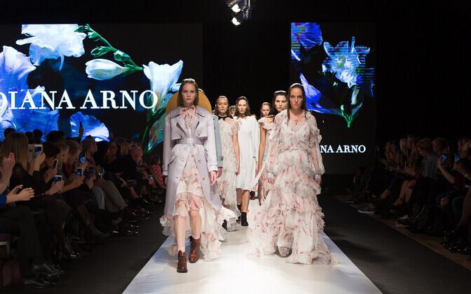 Diana Arno kollektsioon Riia moenädalal