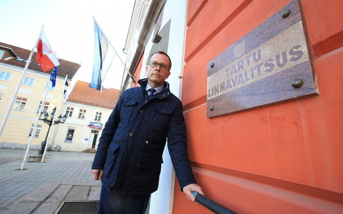 Tartu mayor Urmas Klaas (Reform).