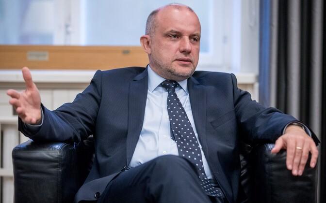 Minister of Defence Jüri Luik.
