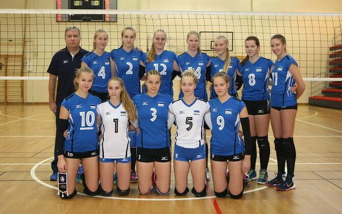 Eesti neidude U-16 võrkpallikoondis