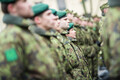 Staabi- ja sidepataljon tähistab aastapäeva piduliku jalutuskäiguga