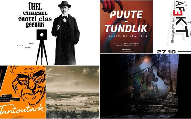 The Culture critics' blog provides a roundup of recommendations for cultural events across Estonia every Monday.