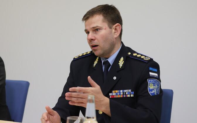 Prosecutor Taavi Pern (left) and Prefect Kristjan Jaani.