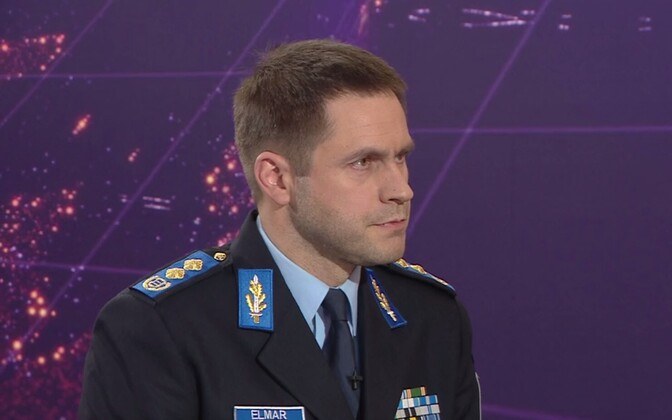 Director-general of the Police and Border Guard (PPA), Elmar Vaher.