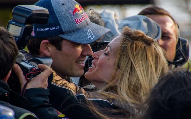 Sebastien Ogier abikaasaga