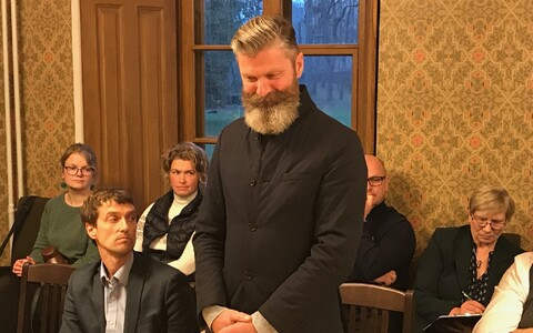Hiiumaa vallavolikogu esimees Aivar Viidik.