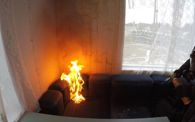 Пожар. Иллюстративная фотография.