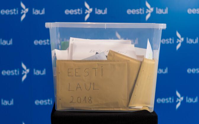 Eesti Laul 2018 lugude tähtaeg