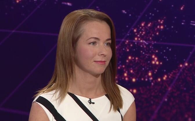 Maksu- ja tolliameti osakonnajuhataja Evelyn Liivamägi.