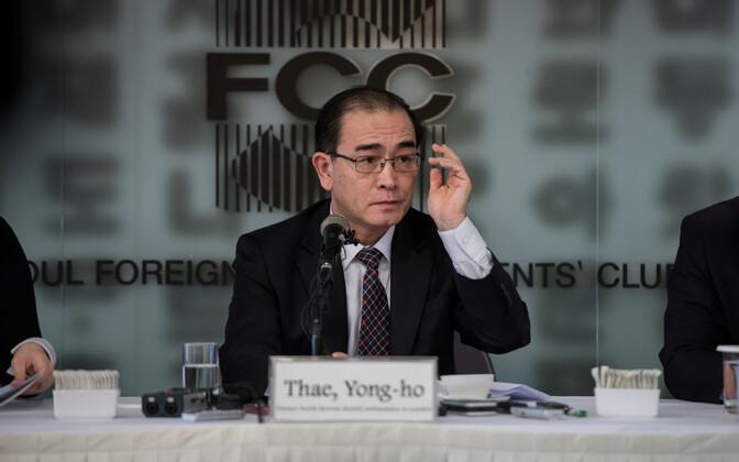 Thae Yong-ho.