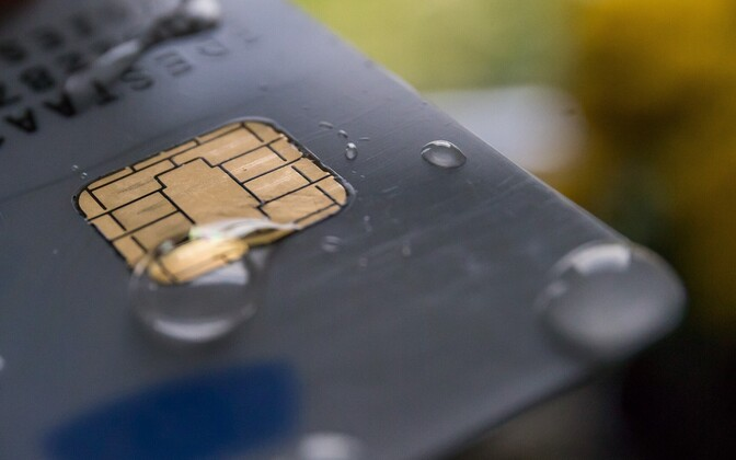 Only cards issued beginning in October 2014 are vulnerable to the detected security risk.