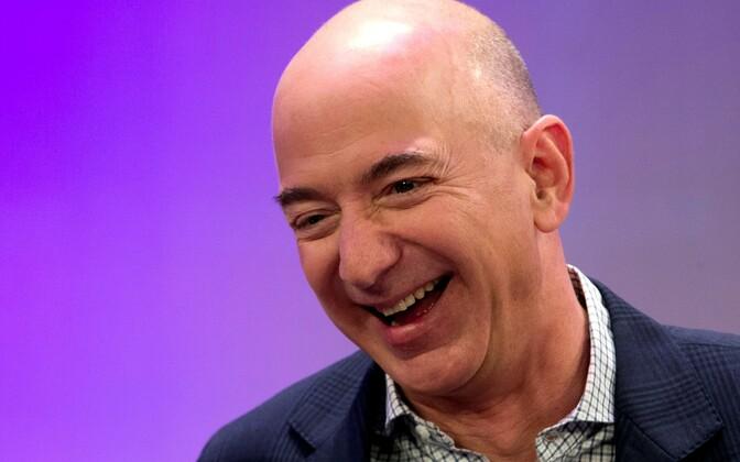 Amazoni rajaja Jeff Bezos.