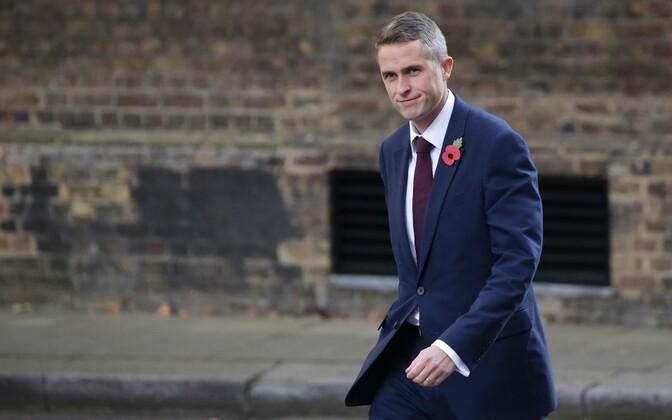 Uus Briti kaitseminister Gavin Williamson.