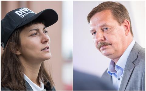 Roheliste esinaine Züleyxa Izmailova ja Keskerakonna linnapeakandidaat Taavi Aas lubavad linna juhtimises astuda sama jalga. Mis aga saab Reidi teest või suurematest küsimustest nagu fosforiidi kaevamine ja Rail Baltic?