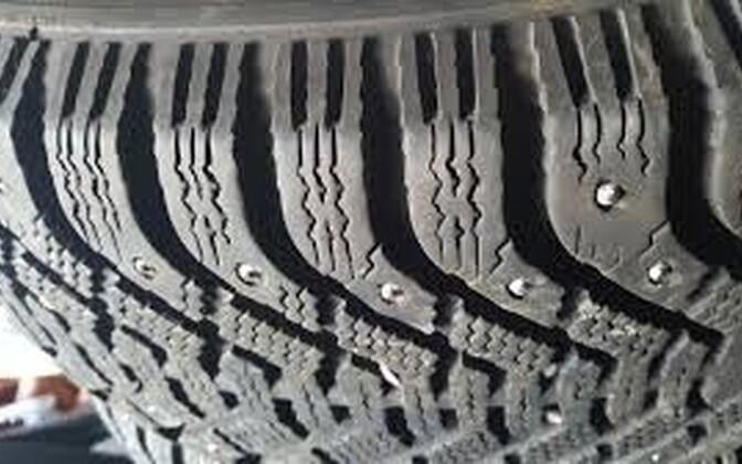 Зимние шины.
