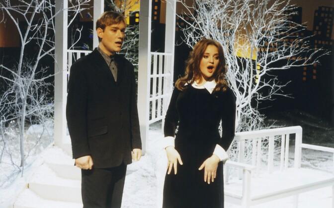 Pearu Paulus ja Hedvig Hanson 1996. aastal.