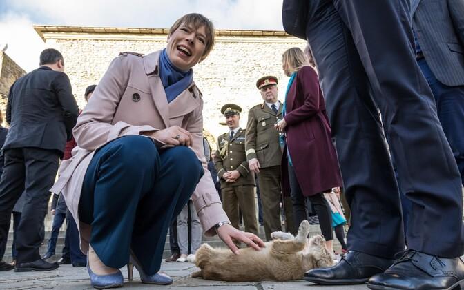 Kersti Kaljulaid Gruusias