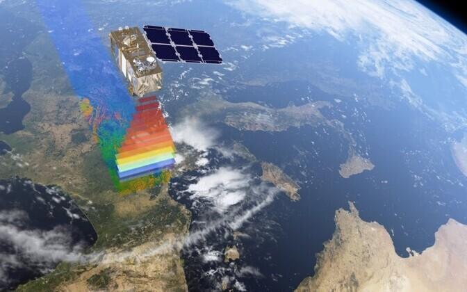 Sentinel 2A kaardistamas Euroopat.