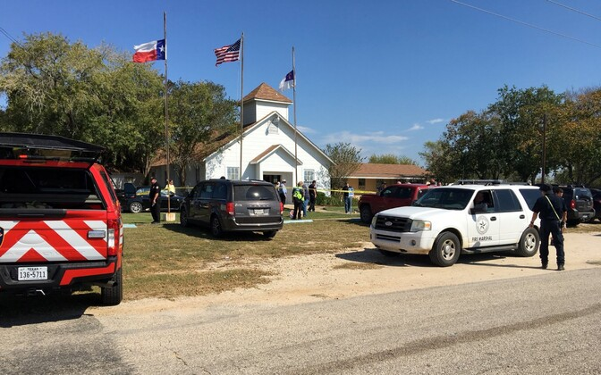 26 people were killed and dozens more injured in a mass shooting at a church in Sutherland Springs, Texas, on Sunday. Nov. 5, 2017.