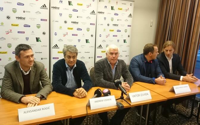 FCI ja Tallinna Levadia pressikonverents