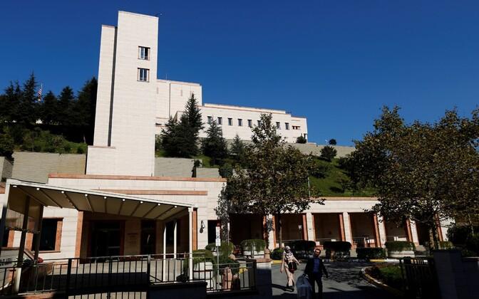 USA konsulaat Istanbulis.