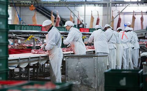Рабочие Ракверского мясокомбината готовы к новой забастовке.