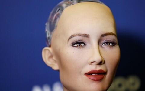 Robot Sophia kujutab endast tehnika viimast sõna.