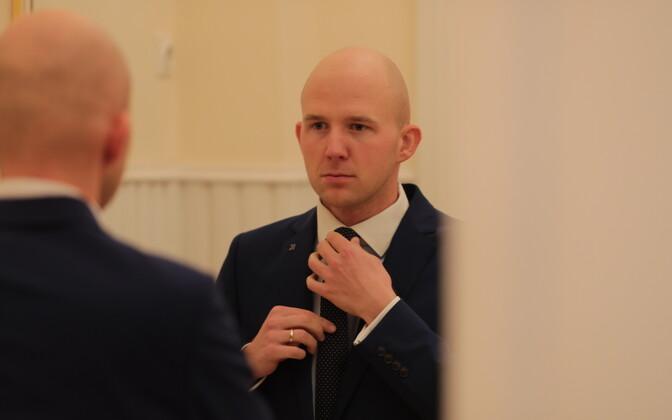 Apteegireformi töörühma juht Tõnis Mölder (KE).