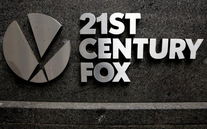 21st Century Foxi logo Manhattanil asuval kontorihoonel.