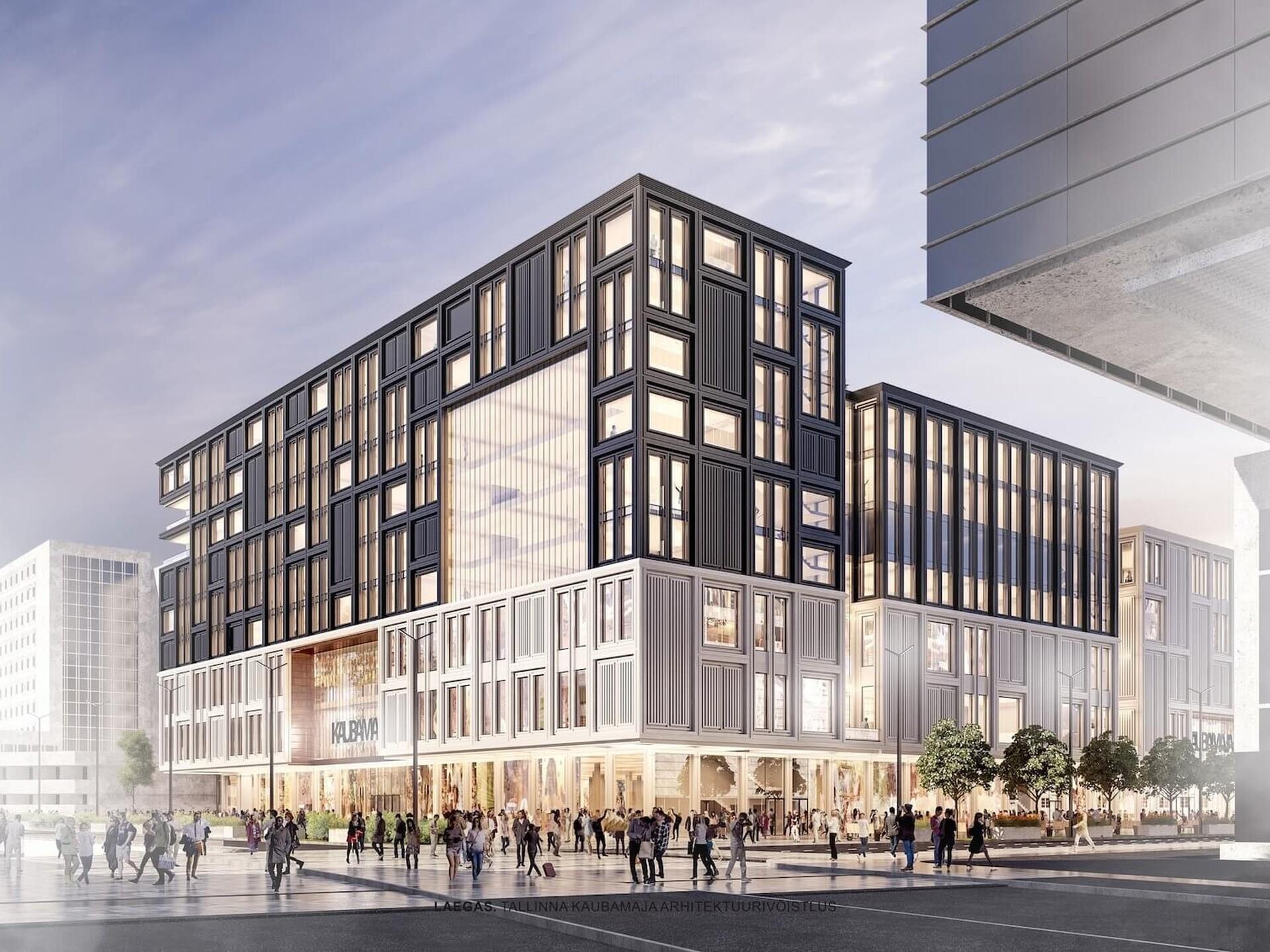 27bb7b81e55 Kaubamaja pani arhitektuurivõistlusele laekunud tööd rahvahääletusele |  Majandus | ERR