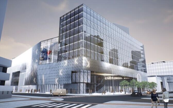 Kaubamaja arhitektuurivõistlusele laekunud tööd.