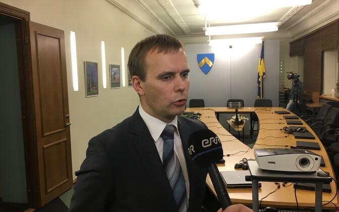 Sillamäe linnapea Tõnis Kalberg.