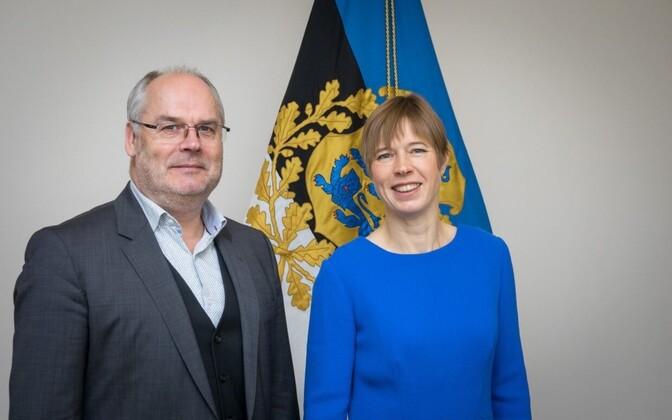 Alar Karis ja Kersti Kaljulaid.