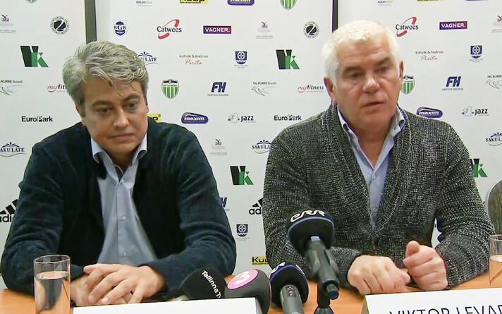 Андрей Лешкин и Виктор Левада