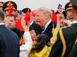 USA president Donald Trump saabus Pekingisse riigivisiidile.