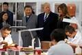 USA president Donald Trump riigivisiidil Hiinas.