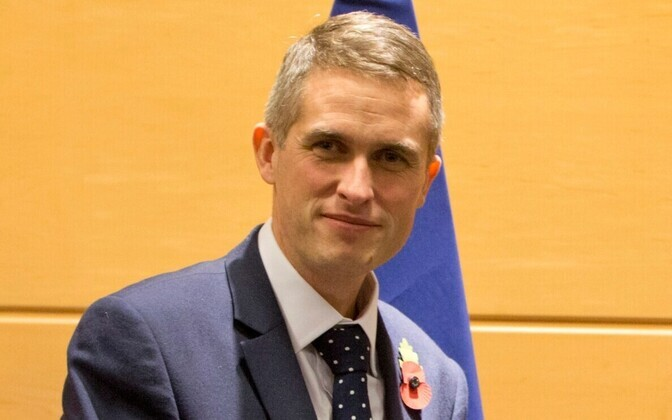 Briti kaitseminister Gavin Williamson.