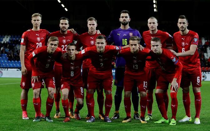 Tšehhi jalgpallikoondis