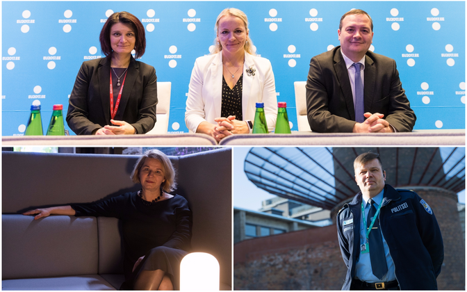 The organizing team of the Estonian presidency of the Council of the EU.