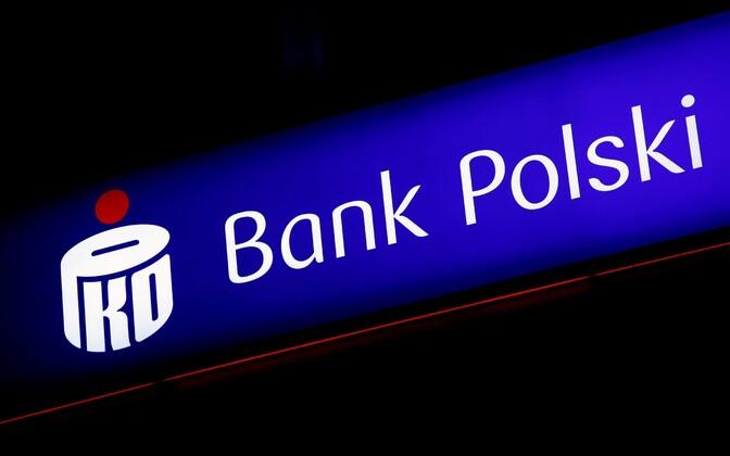 PKO BP (Powszechna Kasa Oszczędności Bank Polski) logo.