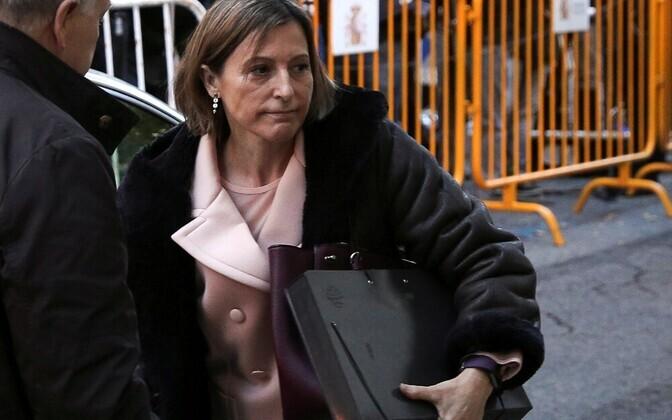 Председатель парламента Каталонии Карме Форкаделл 9 ноября была арестована.