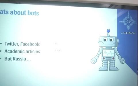 Порядка 80% публикаций в Твиттере со словами НАТО и Эстония сделаны роботами